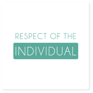 respect of the individual